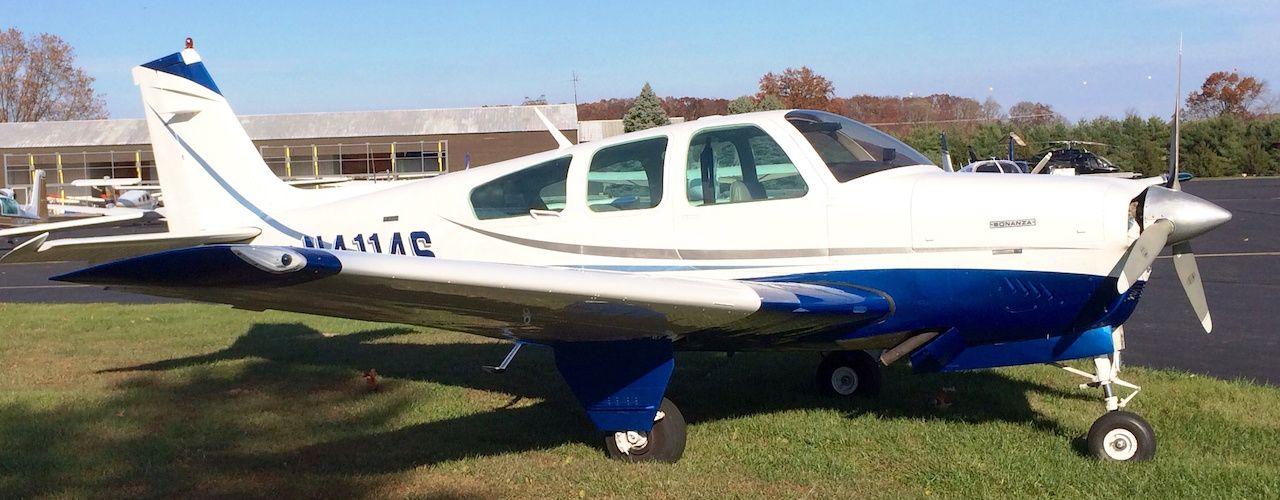 Bonanza F33A on